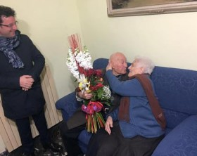 San Valentino: sposi da 73 anni, per loro ancora festa