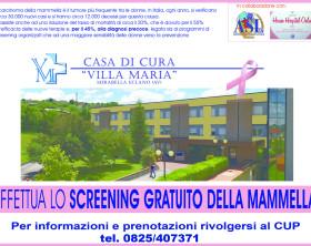 Campagna di screening