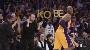 Los Angeles, l'ultima partita di Kobe Bryant