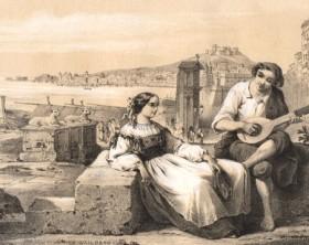 Le numerose iconografie della canzone napoletana