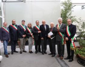 Da Bergolo a Berceto una rappresentanza di sindaci italiani con il presidente ANPCI Franca Biglio e il