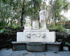 fontana dopo il restauro