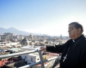 Il cardinale di Napoli, Crescenzio Sepe