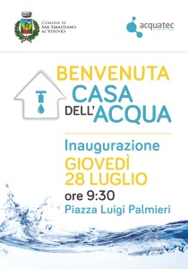 Inaugurazione Casa dell'Acqua di San Sebastiano al Vesuvio-min