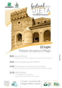 Locandina Festival Dieta Mediterranea