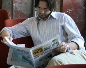 Il cronista Alessandro Bozzo