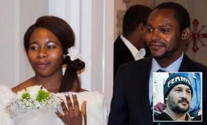 Emmanuel Chidi Namdi, sua moglie Chinyery e Amedeo Mancini