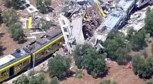 L'impatto dei due treni