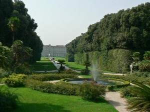Parco reale della reggia di Caserta