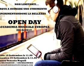 Locandina Open Day 16-17