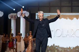 """Gianni Molaro, an Italian Stylist during """"Tuttosposi 2015"""""""