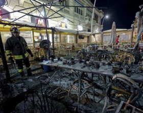 Scoppia stufa ristorante lungomare Napoli, due feriti