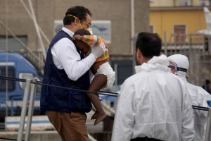 463 migrants desembark in Napoli harbour