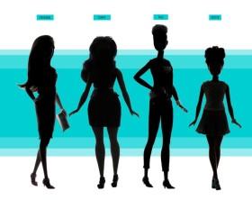 Barbie con corpi reali