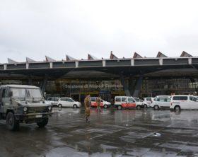 Foto 1 - Militari dell'Esercito presidiano la stazione centrale