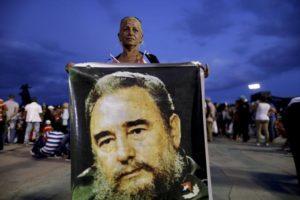 APTOPIX Cuba Fidel Castro