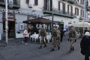 Foto 1 - Presidio a Piazza Garibaldi Napoli