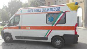 Ambulanza a Palermo