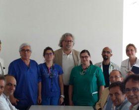 foto-visita-presidente-ordine-medici-scotti-allospedale-del-mare