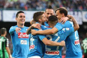 Soccer: Serie A; Napoli - Sassuolo