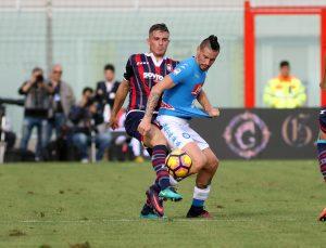 Soccer: Serie A; Crotone-Napoli