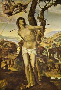 painting-of-saint-sebastian-shot-with-arrows