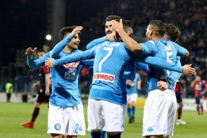 Soccer: Serie A; Cagliari-Napoli