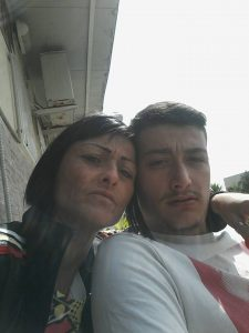Anna De Luca Bossa e suo nipote Umberto De Luca Bossa