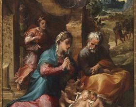 Michelangelo Anselmi_Adorazione_Napoli, Museo e Real Bosco di Ca