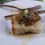 Genovese su pane di Matera croccante