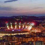 Universiadi: cerimonia di chiusura allo stadio San Paolo