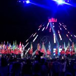 - NAPOLI 14  LUG  2019 -  Napoli stadio San Paolo cerimonia di chiusura della XXX Olimpiade Universitaria Summer Universiade 2019  - Photo Pool Fotografi Universiade 2019