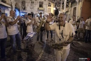 Marco Zurzolo Banda MVM Ex VotoPomigliano Jazz in Campania 2019Quindici