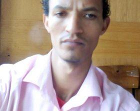 Gerald Erebon il ragazzo kenyano che dopo 30 anni di silenzio ha deciso di uscire allo scoperto e ha raccontato di essere figlio di un prete italiano, un missionario della Consolata, Roma, 4 giugno 2019. ANSA/Palesse Domenico