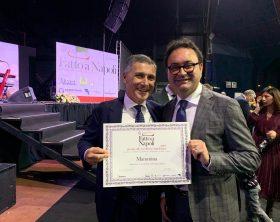 Nella foto, da sinistra: Antonino della Notte, delegato al Turismo CCIAA Napoli; e Antonio Viola, presidente Mammina Holding.
