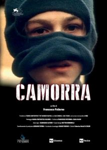 La locandina del film Camorra che sarà in concorso alla 75ma edizione della Mostra Internazionale d'Arte Cinematografica a Venezia. La Biennale Cinema, si svolgerà al Lido di Venezia dal 29 agosto all?8 settembre, Roma 22 agosto 2018.   ANSA/US KINOWEB   +++ ANSA PROVIDES ACCESS TO THIS HANDOUT PHOTO TO BE USED SOLELY TO ILLUSTRATE NEWS REPORTING OR COMMENTARY ON THE FACTS OR EVENTS DEPICTED IN THIS IMAGE; NO ARCHIVING; NO LICENSING +++