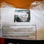 Le mascherine attualmente utilizzate all'Ospedale del Mare di Napoli dagli operatori e dai pazienti infetti