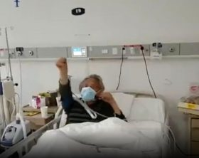 paziente-di-87-anni-esulta