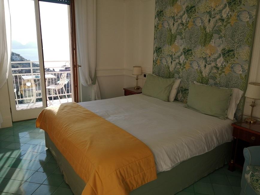 Il dettaglio di una delle stanze di Bellavista Francischiello - Hotel&Spa