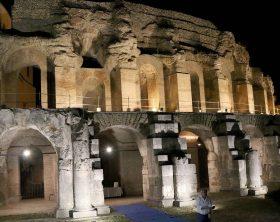 bct anfiteatro romano illuminato il concerto di nicola piovani (