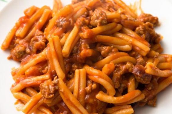 Ricetta Ragu Di Salsiccia.Pasta Al Ragu Di Salsiccia La Ricetta Di Mimmo Il Pastaio Napolitan It
