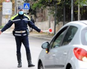 NUOVO DPCM PUGLIA ZONA ARANCIONE PRIMO GIORNO CONTROLLI DELLA POLIZIA LOCALE SUGLI SPOSTAMENTI