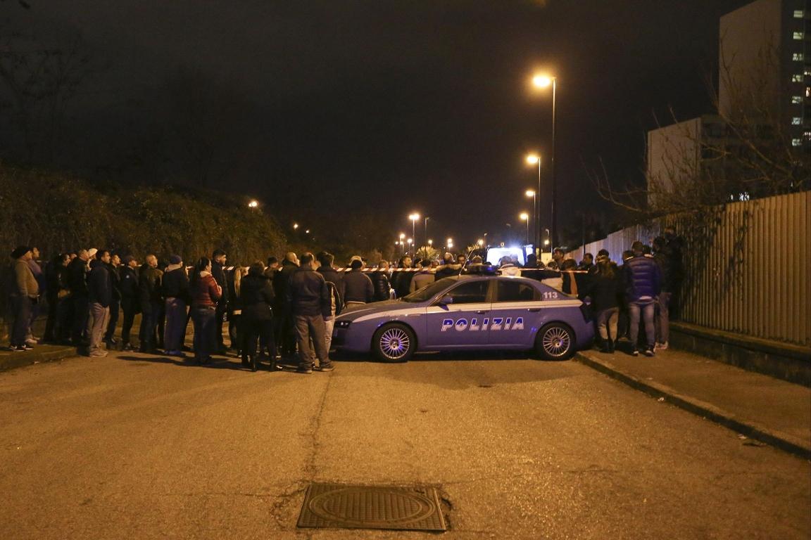 Immagine della scena del crimine del delitto Volpicelli