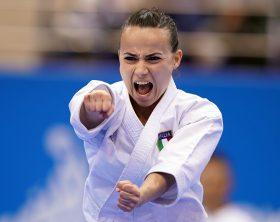 BOTTARO VIVIANA (ITALY) in Senior Female Kata - Final Bout