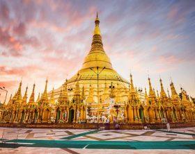 Shwedagon Pagoda of Myanmar