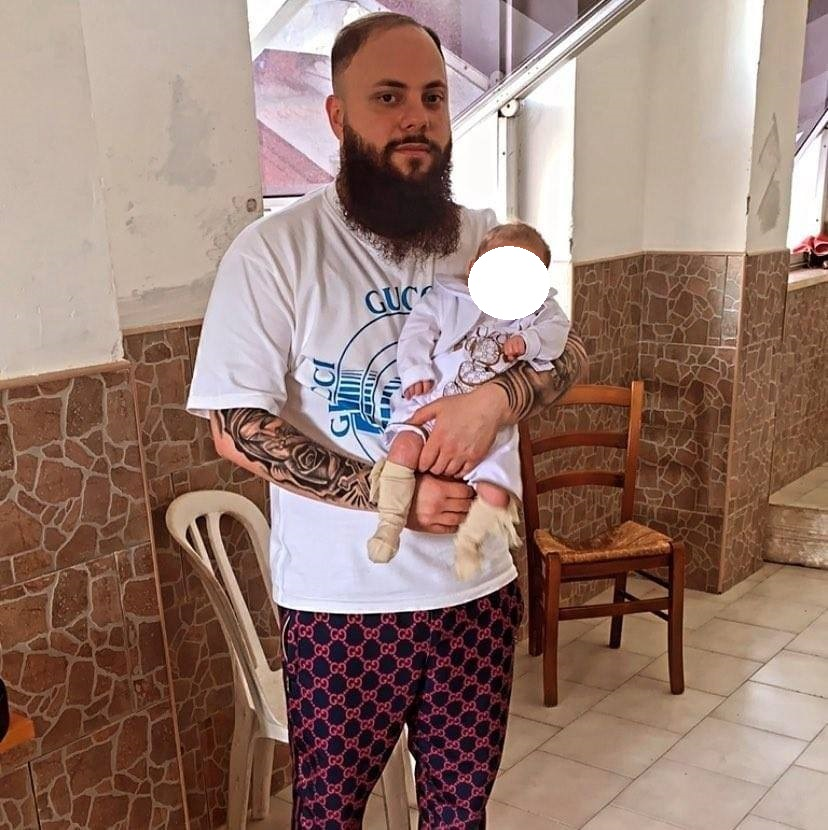 Salvatore De Martino, diventato padre di recente